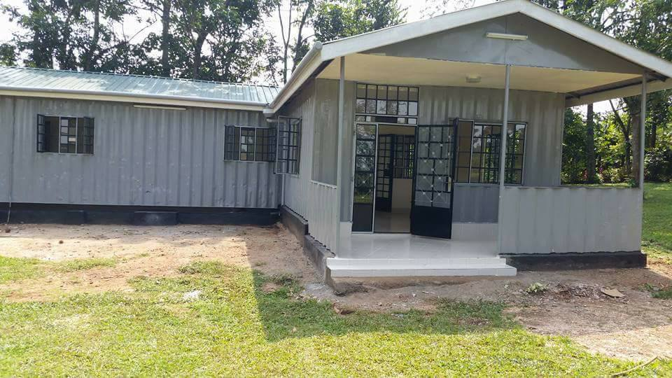 Container Home Accommodation Containers Fabrication Kenya